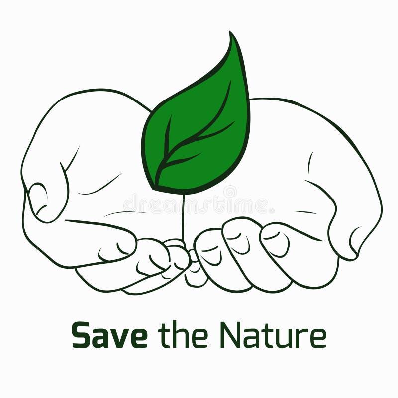 uratować natury ilustracji