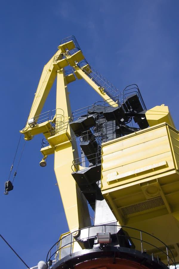 Download żuraw obraz stock. Obraz złożonej z ładunek, maritimer - 13326745