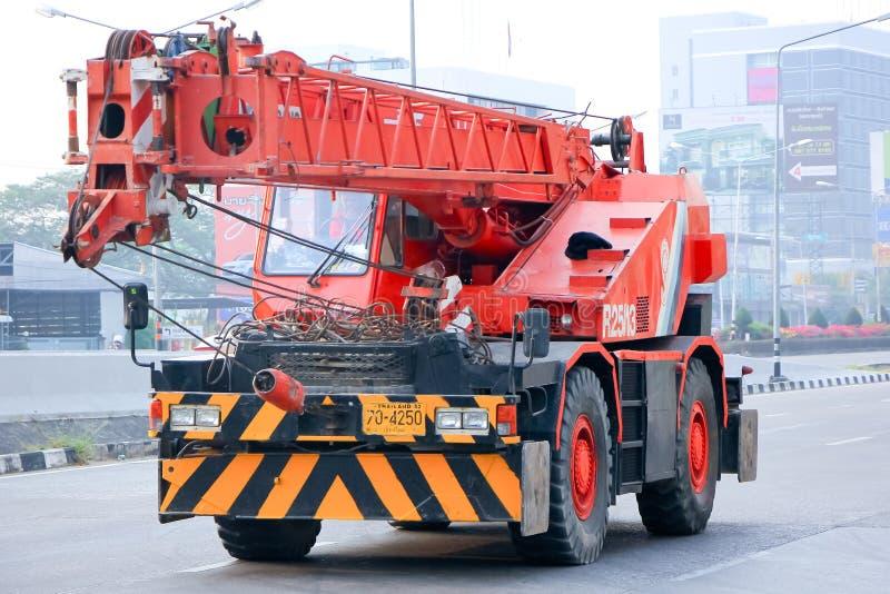 Żuraw ciężarówka fotografia stock