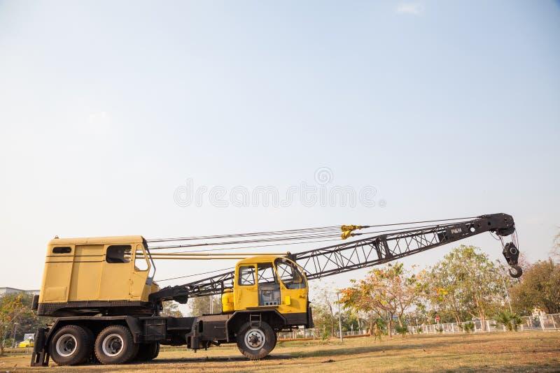 Żuraw ciężarówka obraz stock
