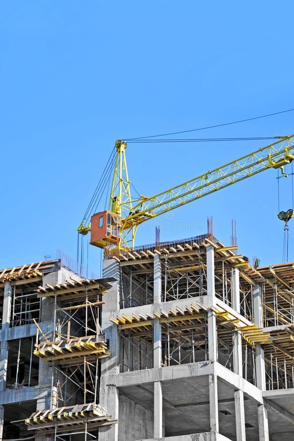 Download Żuraw i budowa obraz stock. Obraz złożonej z deckchair - 34998033