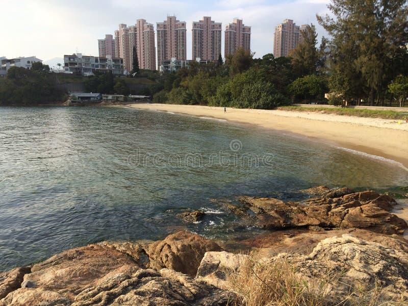 Urbain, plage, mer photos libres de droits