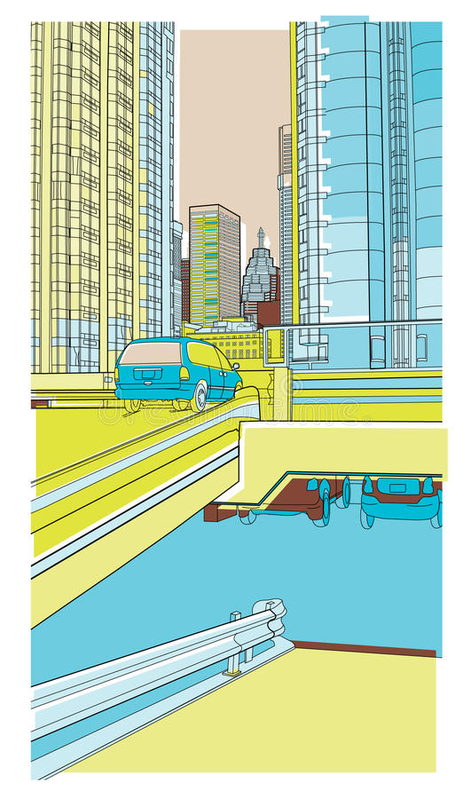 Download Urban 5 stock vector. Image of urban, architecture, vector - 18502415