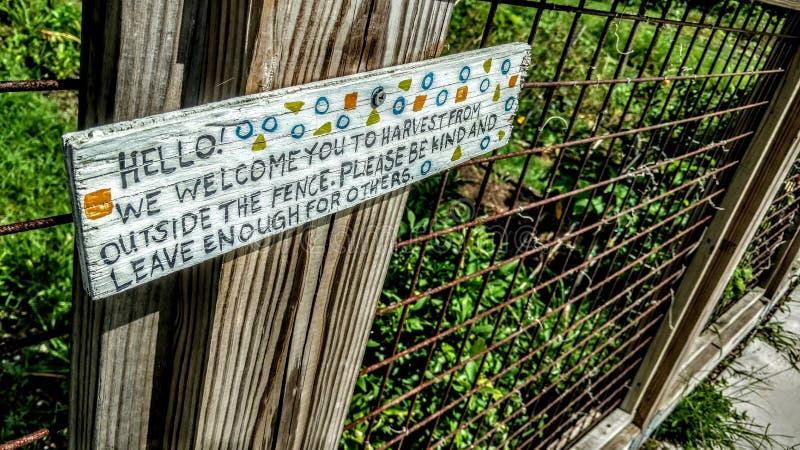 Urban arbeta i trädgården i New Orleans, Louisiana fotografering för bildbyråer