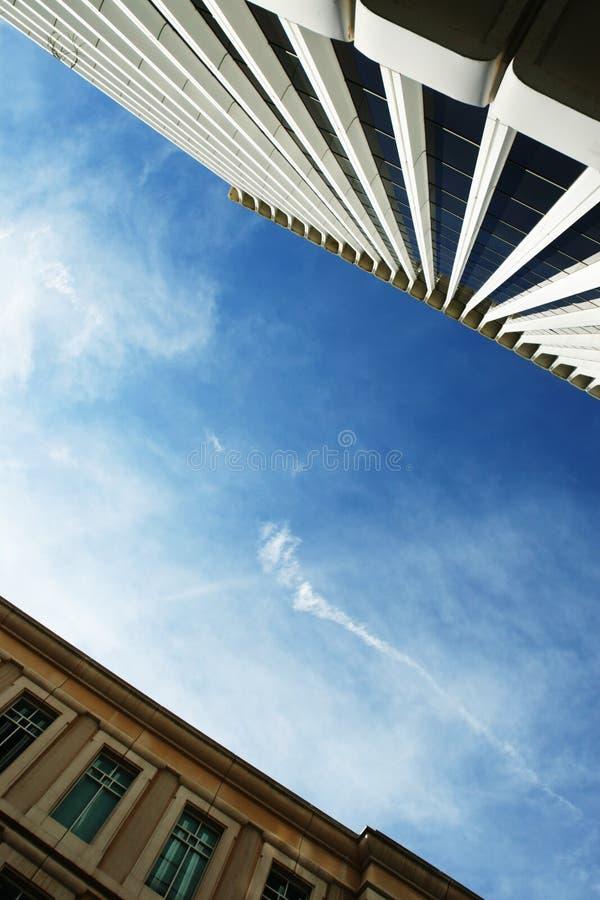 Urban architecture background stock photos