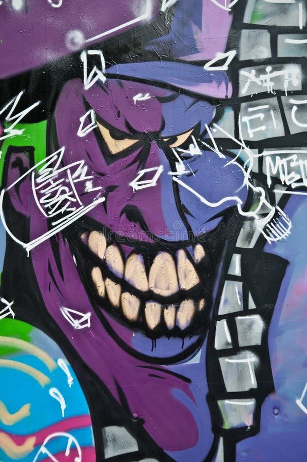 Urban art - monster royalty free stock photography