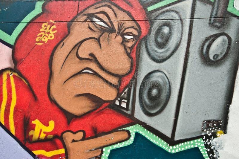 Urban art stock image