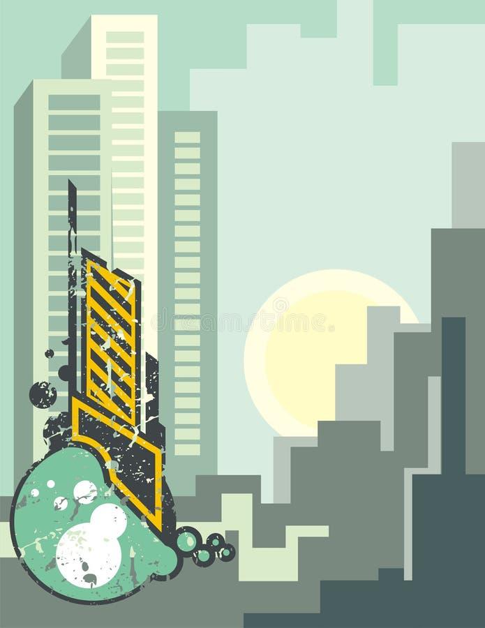 Urban Background royalty free illustration