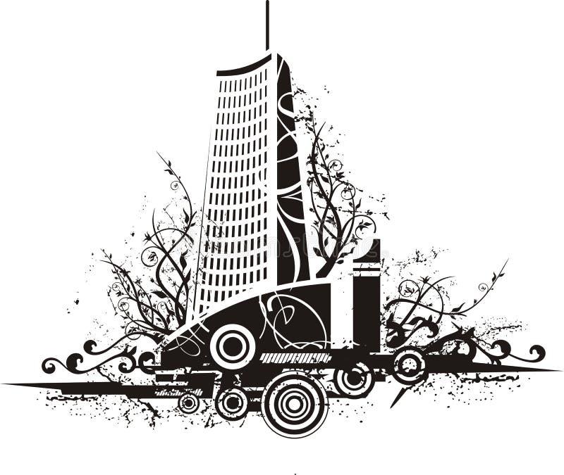 Download Urban background stock vector. Illustration of blot, decorative - 6029728