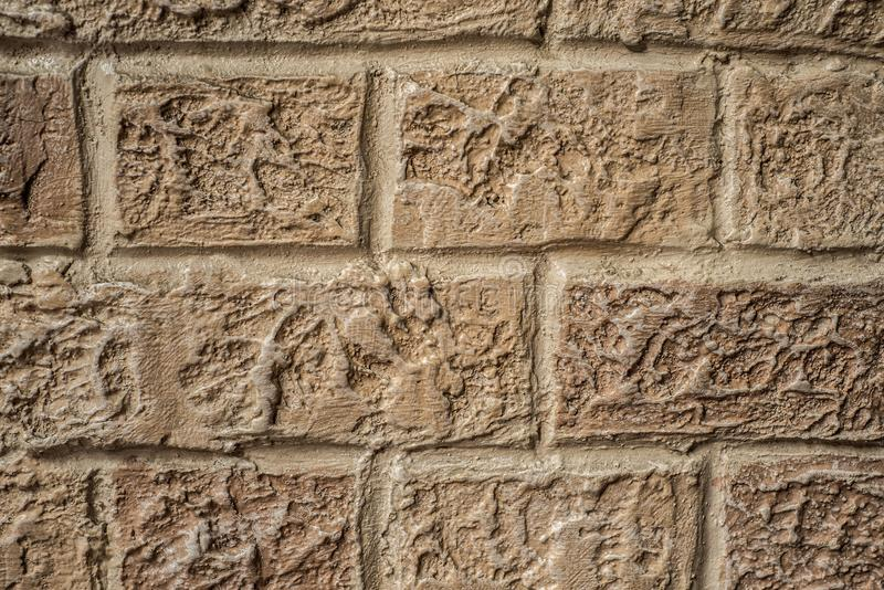 Urban Background, Red Brick Wall Texture royalty free stock photos