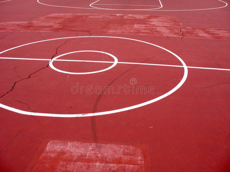 Urban Basketball Court royalty free stock images