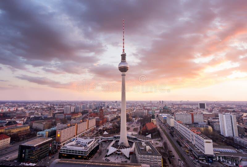 Urban Berlin, Tyskland royaltyfria bilder