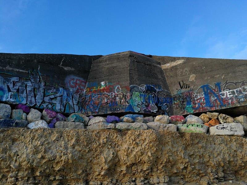 Urban betong arkivbilder