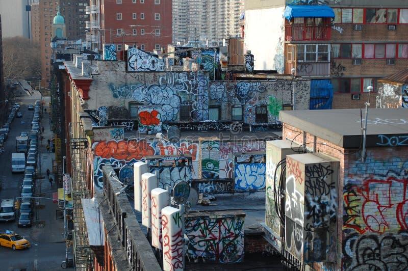 Urban Blight in New York City stock photos