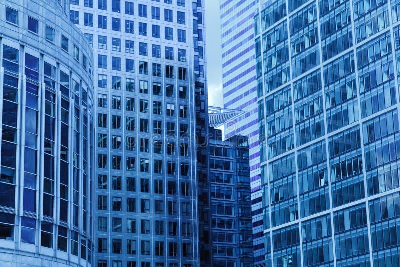 Urban buildings stock image