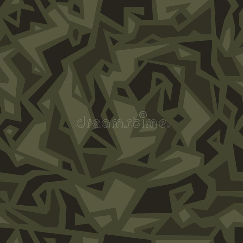 Free Urban Camouflage In Ethnic Style, Seamless Texture. African Camo Pattern. Stock Image - 144879981