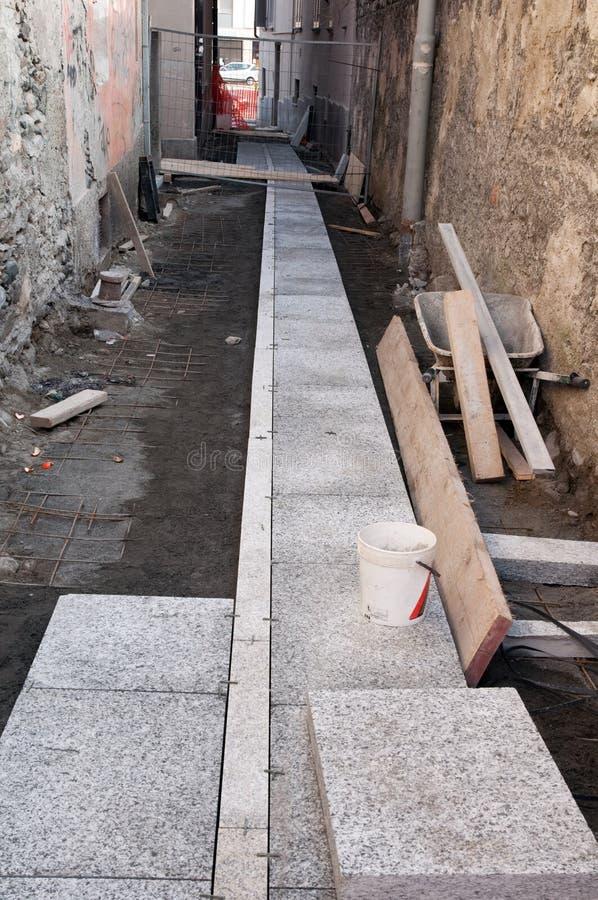 Download Urban center renovation stock image. Image of detached - 12740659