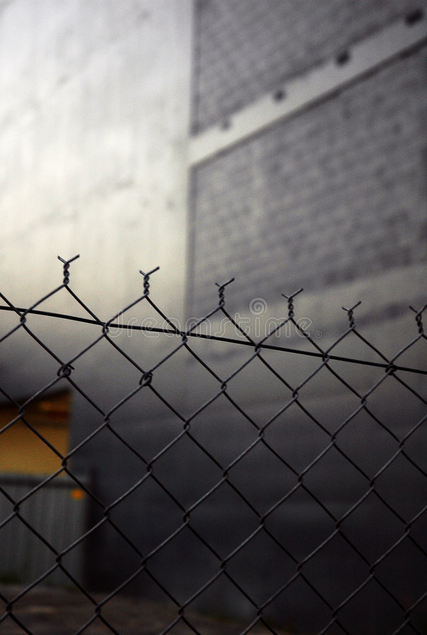 Free URBAN CHAIN LINK FENCE Stock Photos - 1927973