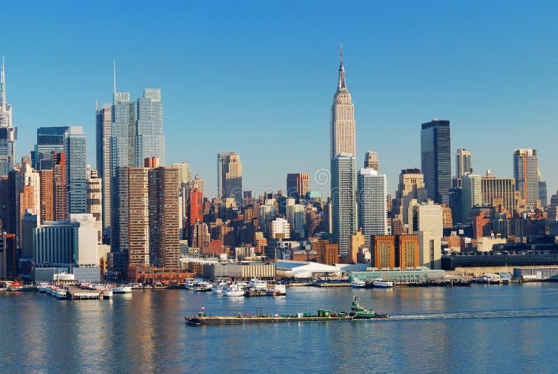 Urban City Skyline royalty free stock photo
