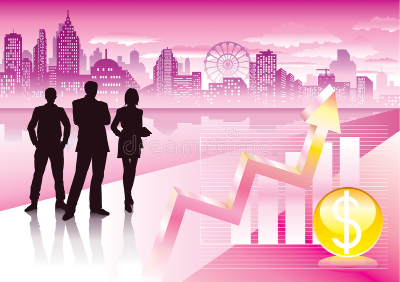 Download Urban commercial stock vector. Illustration of corporate - 4839136