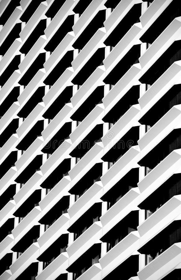 Urban construction, architecture details and fragment in black and white, architecture abstract in B&W, urban creatives, architec royalty free stock photo