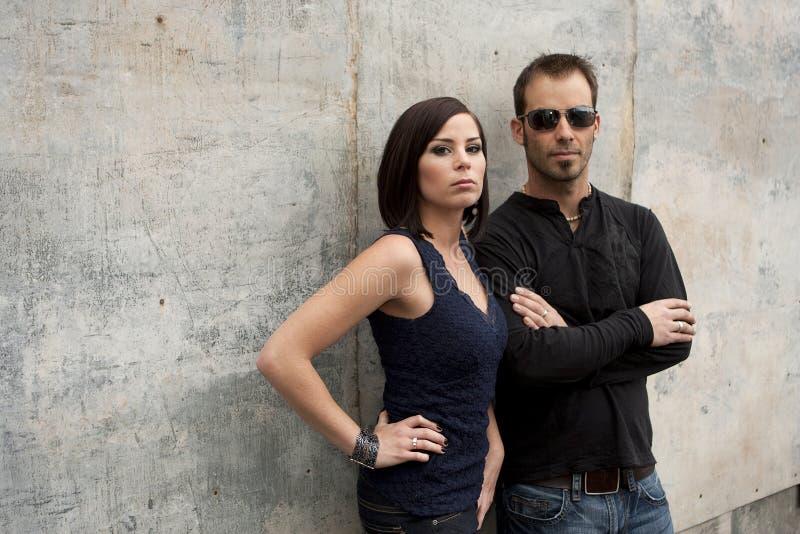 Urban Couple stock photo