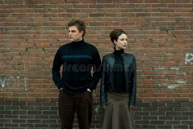 Urban Couple royalty free stock photos