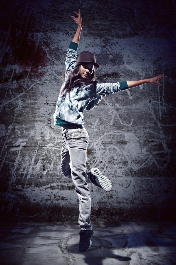 Urban dance royalty free stock photo