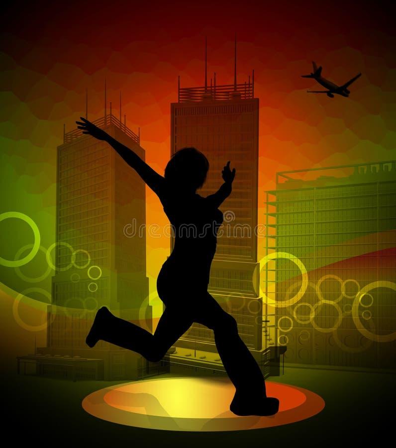 Download Urban dancer idol star stock illustration. Illustration of sensual - 7626247