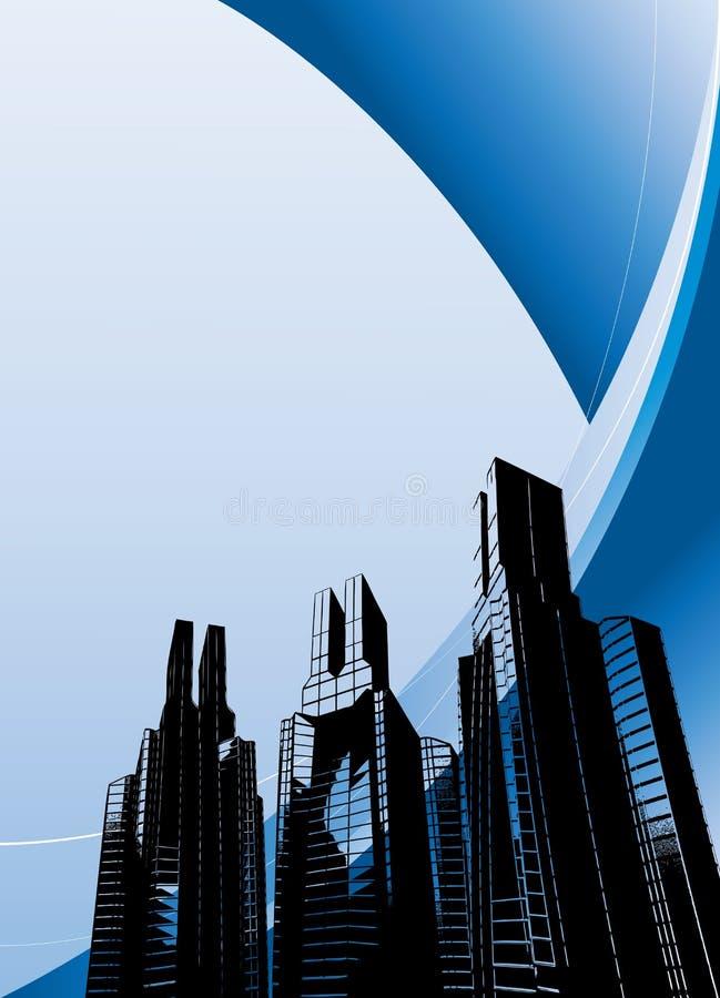 Free Urban Futuristic Blue Background / Layout Stock Images - 10743444