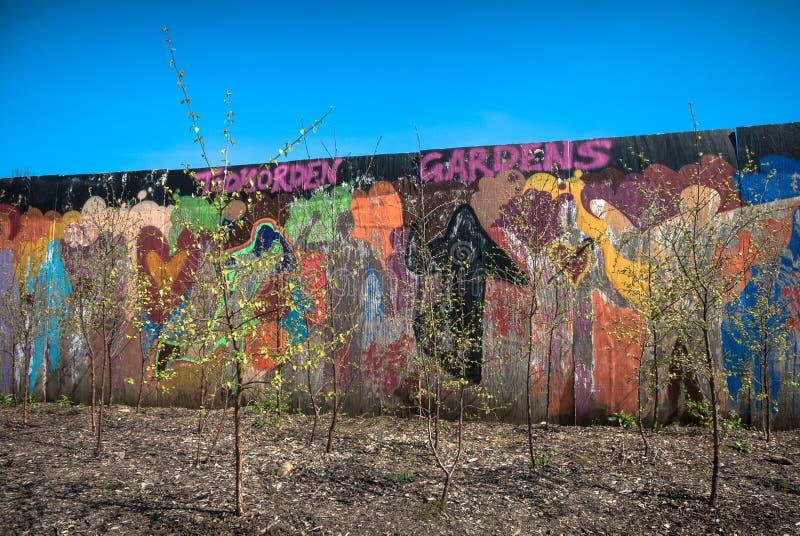 Download Urban Garden stock image. Image of community, tree, garden - 40443891