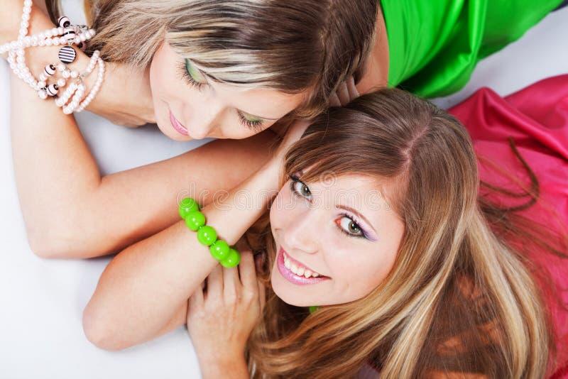 Urban girls stock photos