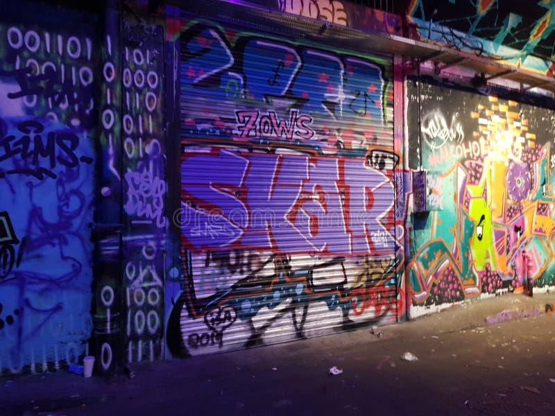 Urban Graffiti Art stock photos