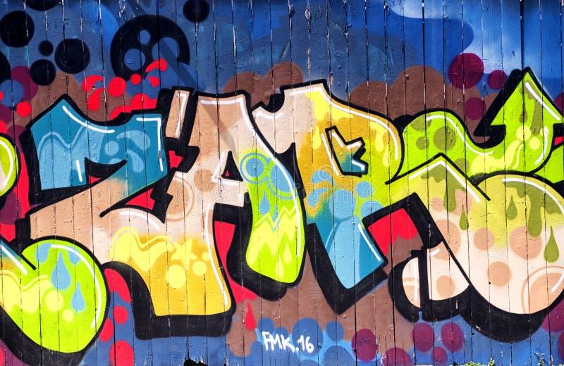 Urban Graffiti Los Angeles California royalty free stock images