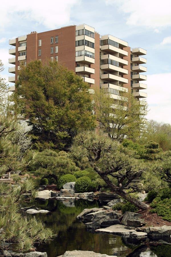 Urban Green Space royalty free stock photos
