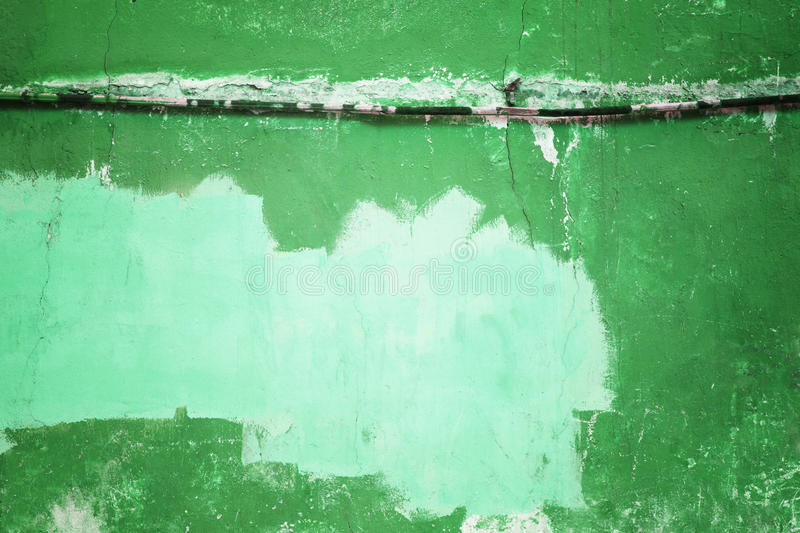 Download Urban Green Wall Color Or Texture Of Cement Concrete Stock Image