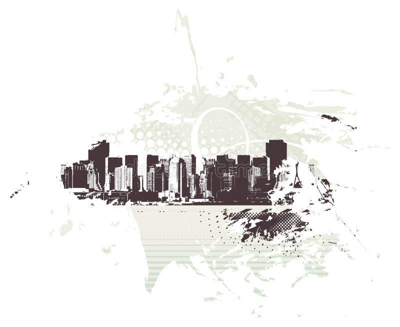 Download Urban grunge city stock vector. Illustration of elements - 11537513