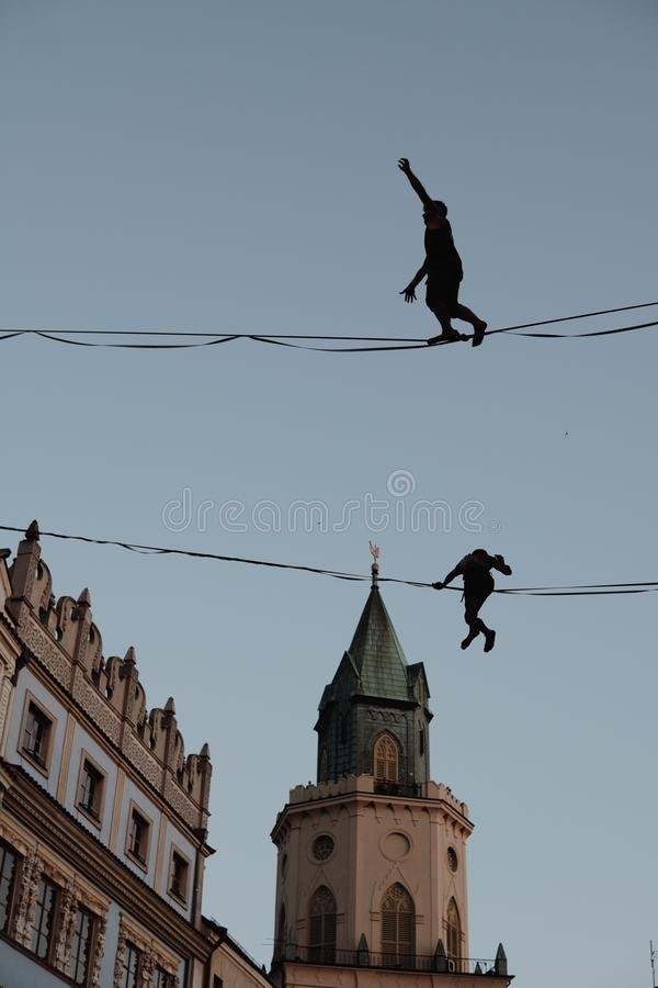 Urban Highline Festival stock photos