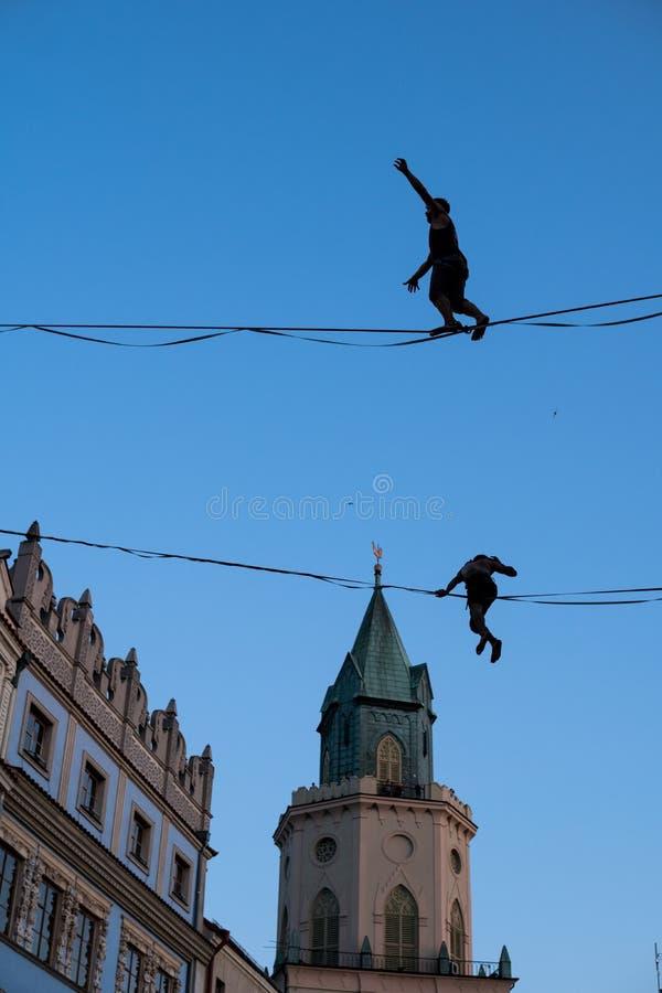 Urban Highline Festival stock images