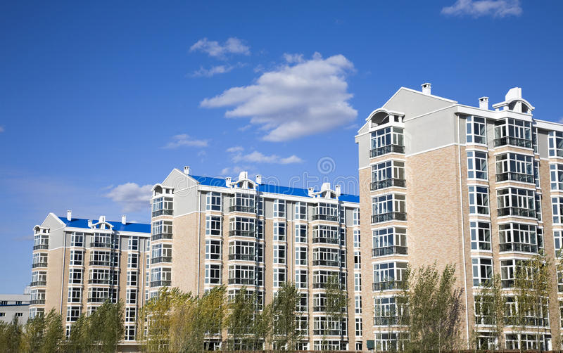 Download Urban Housing stock image. Image of building, cloud, home - 12082953