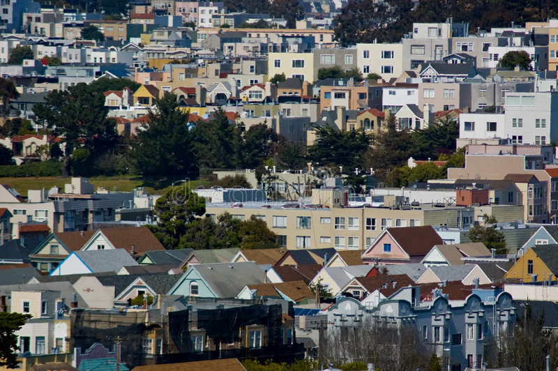 Download Urban Housing stock photo. Image of home, aerial, leased - 2955676