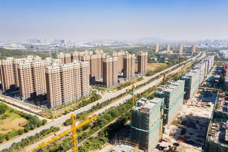 Urban housing in China royalty free stock photography
