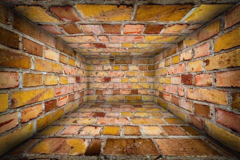 Urban Interior Brick Walls Stage Background. Texture stock photography