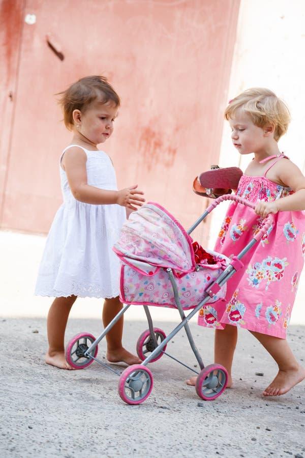 Urban kids royalty free stock image