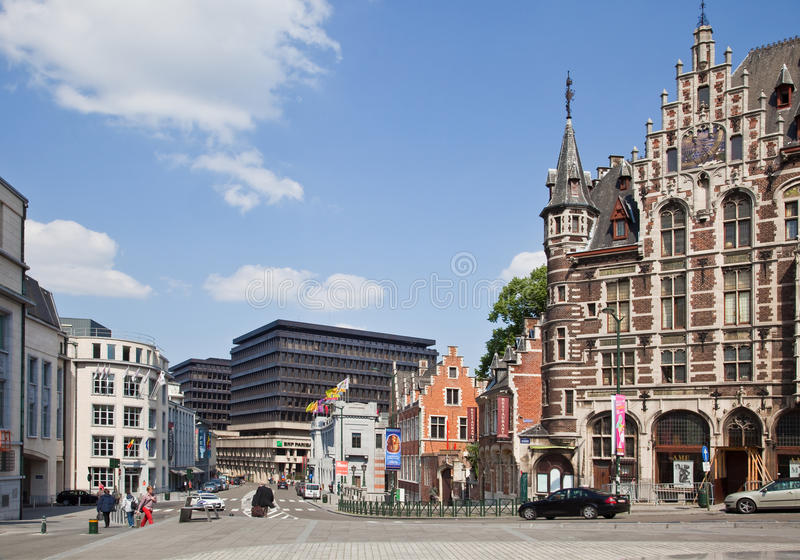 Download Brussels, cityscape editorial stock photo. Image of pedestrian - 30006023