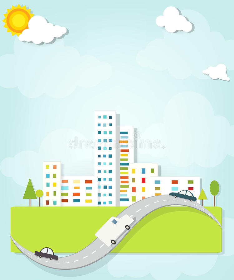 Urban Landscape Royalty Free Stock Photography