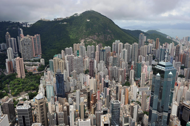 Download Urban Landscape In Hong Kong Stock Photo - Image: 12244958