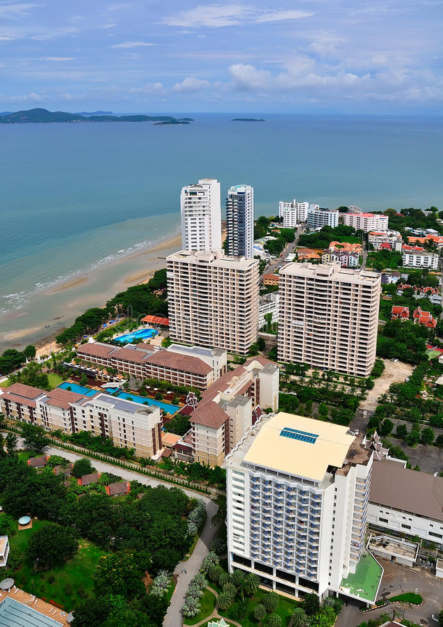 Free Urban Landscape Of Pattaya City, Thailand Royalty Free Stock Images - 17566829