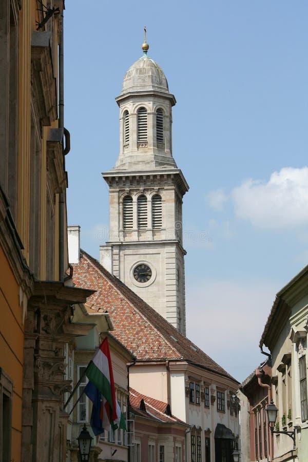 Urban landscape - Sopron, Hungary royalty free stock photo