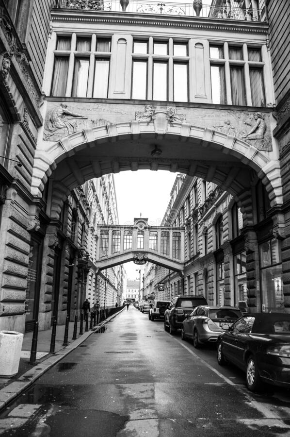 Urban landscapes in the city of Prague royalty free stock image